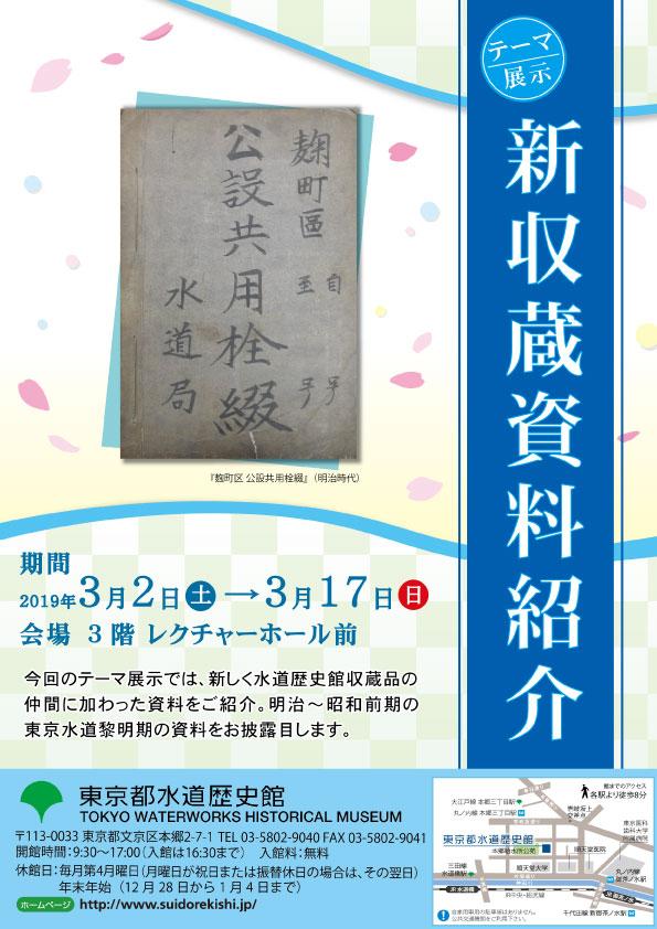 冬のテーマ展示「新収蔵資料紹介」